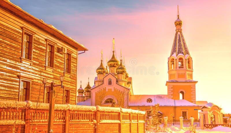 Gradoyakutsky变貌大教堂 库存图片