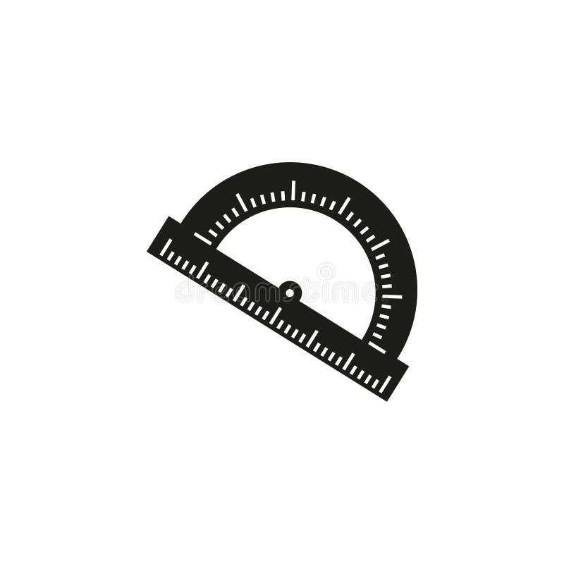 Gradskivan av en skolainstrumentsymbol vektor illustrationer