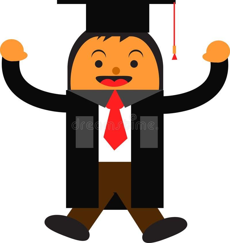 Graduação ilustração stock