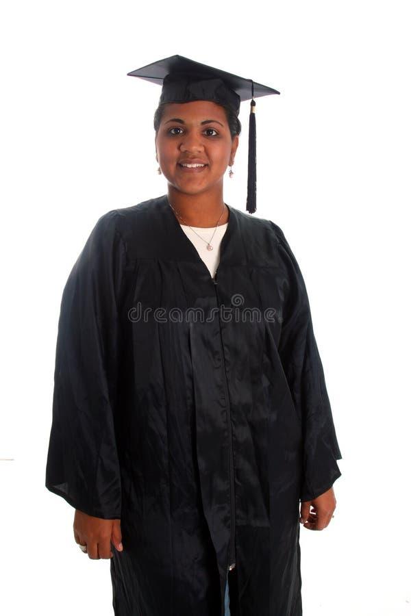 Graduação da mulher foto de stock royalty free