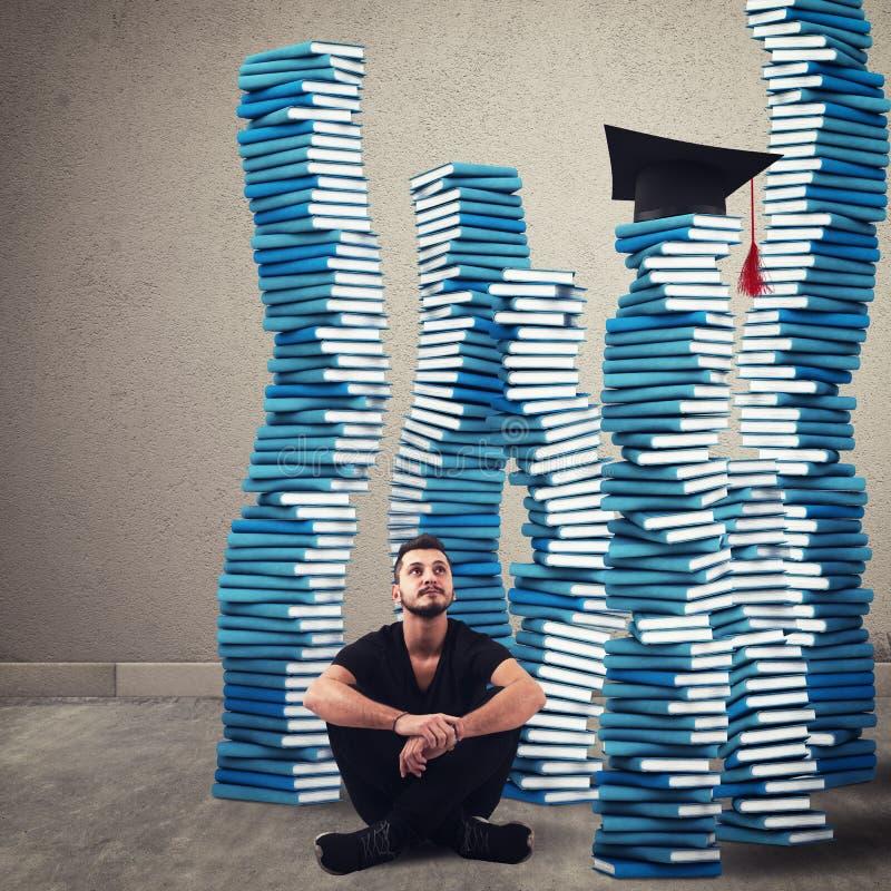 Graduação do alcance imagem de stock royalty free