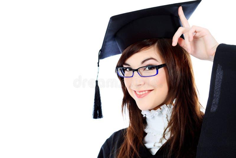 Graduação feliz fotos de stock royalty free