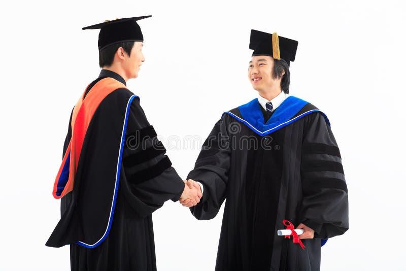 Graduação II da universidade imagens de stock