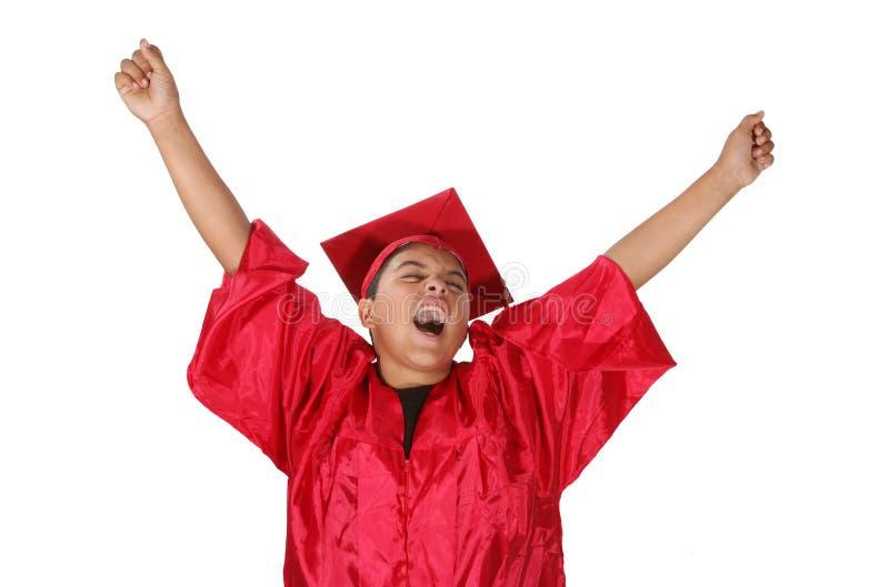 Download Graduación foto de archivo. Imagen de vestido, feliz, escuela - 1277132