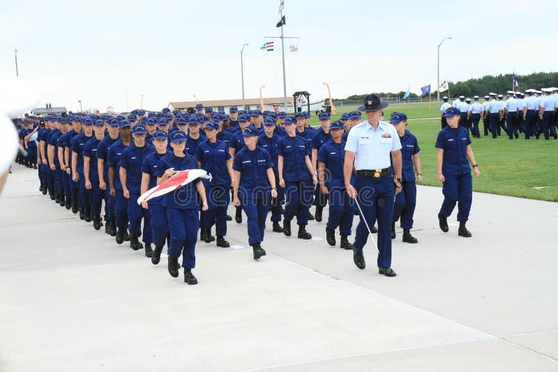 Graduación 3 del guardacostas de los E.E.U.U. fotos de archivo