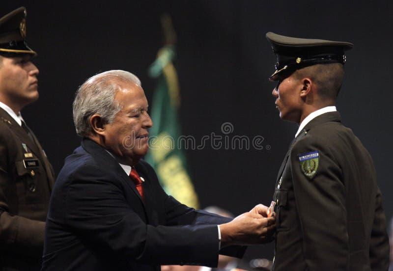 Graduación de la LXXXVIII promoción de Escuela Militar stockfotos