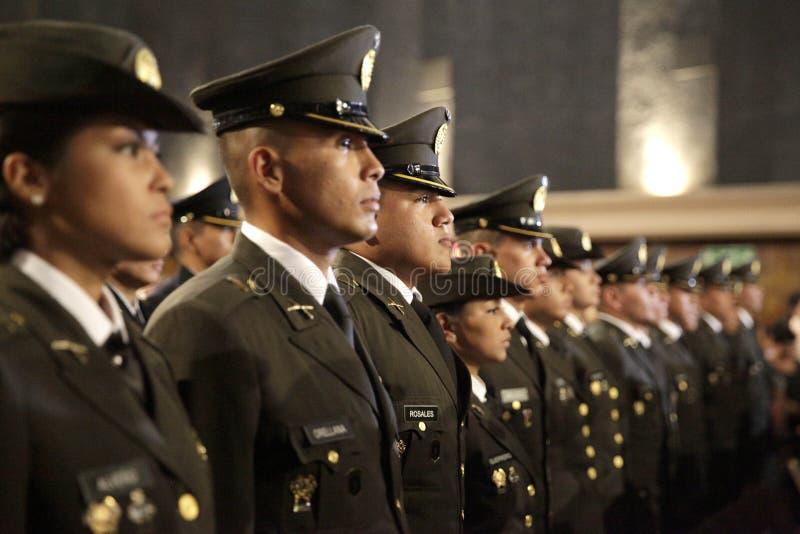 Graduación de la LXXXVIII promoción de Escuela Militar lizenzfreie stockbilder