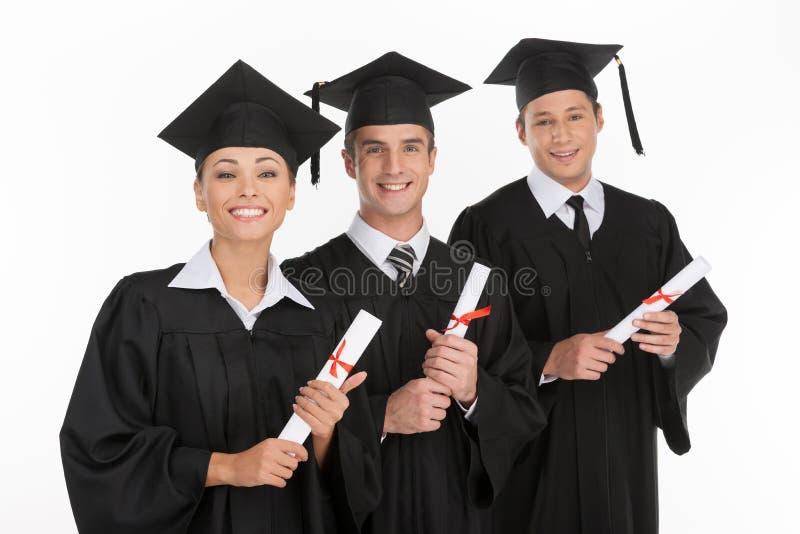 Graduación de la universidad. foto de archivo libre de regalías