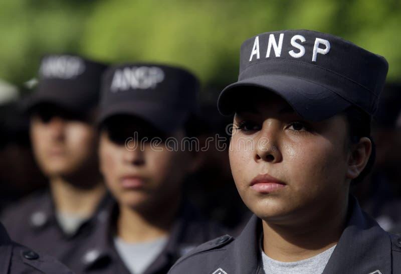 Graduación promoción 115 nivel básico ANSP fotografie stock