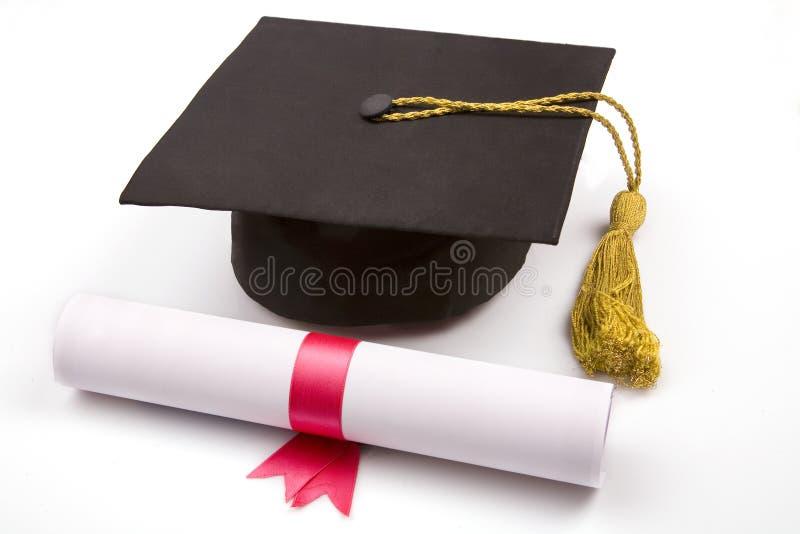 Graduado imagem de stock