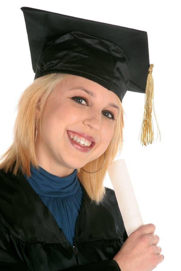 Download Graduado Académico Da Menina Foto de Stock - Imagem de atitude, cheer: 531614