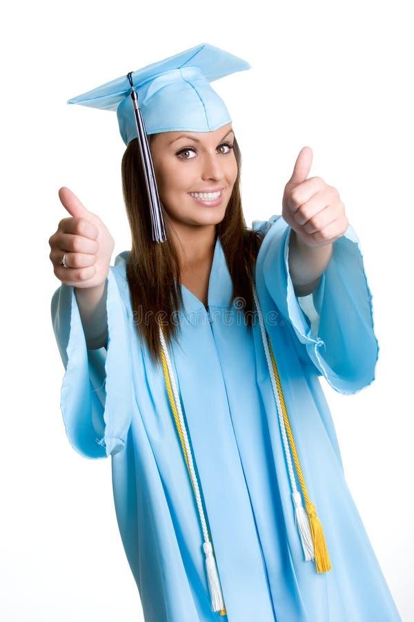 Graduado bonito foto de stock royalty free