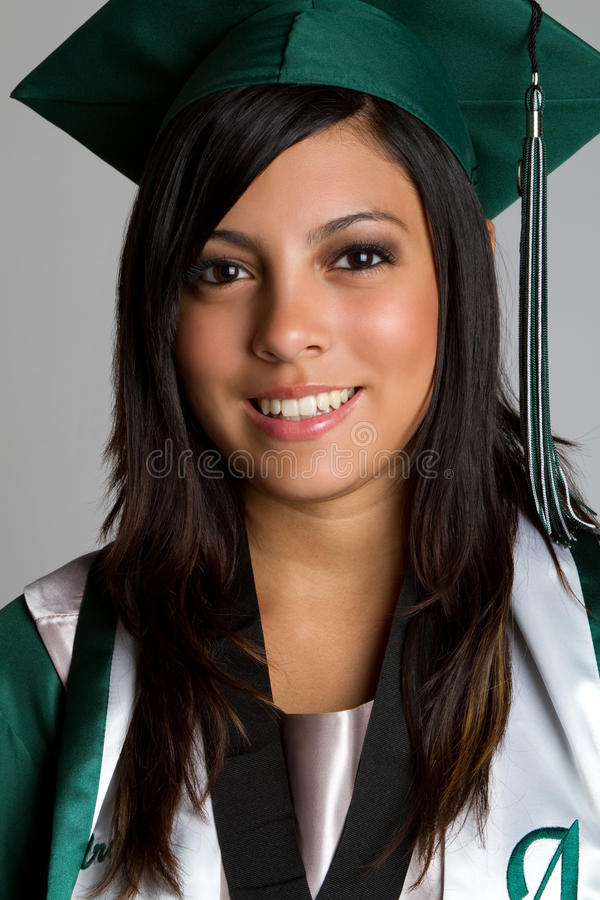 Graduado da High School imagem de stock royalty free