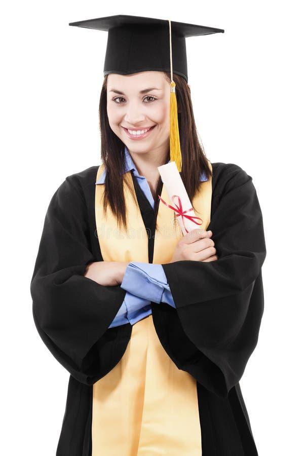 Graduado de faculdade imagens de stock royalty free