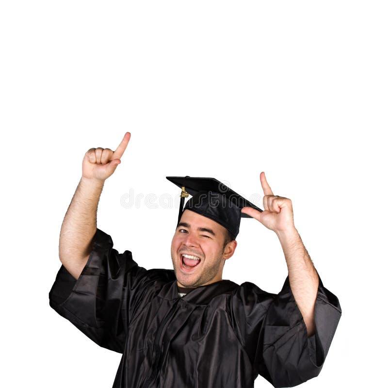 Graduado feliz imagens de stock royalty free