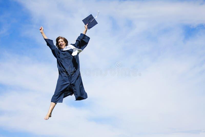 Graduado feliz imagens de stock