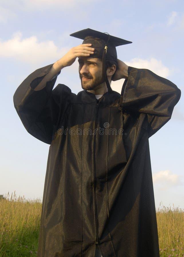 Graduado orgulloso fotos de archivo