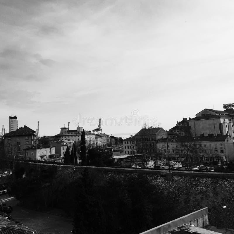 Graduado Rijeka fotografia de stock