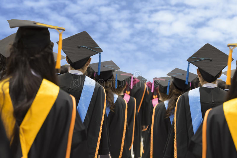 graduados fotos de archivo