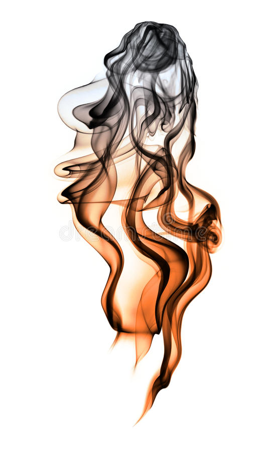Download Gradually cooling smoke stock image. Image of cold, delicate - 12038243