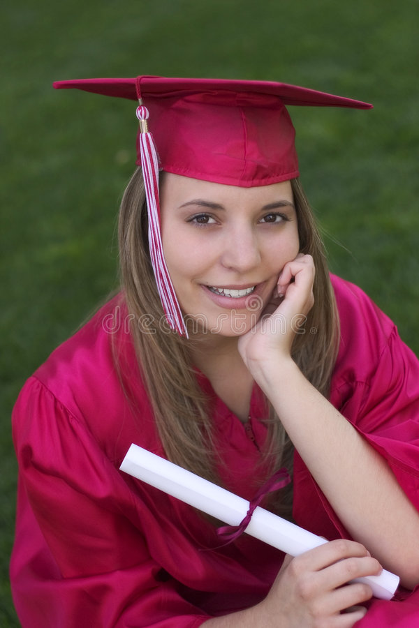 Download Graduate stock photo. Image of teen, girls, gaduates, gown - 109870