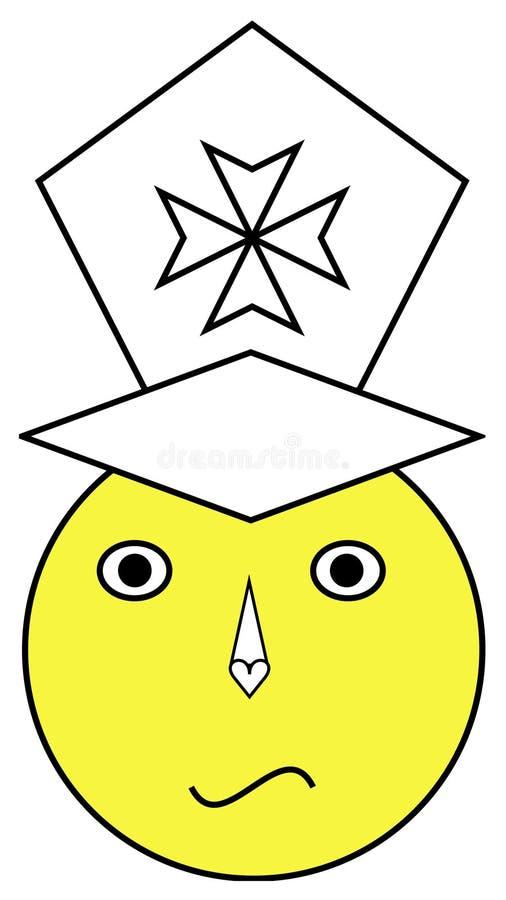 Graduate emoji stock photos