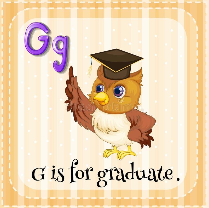 Graduate vector illustration