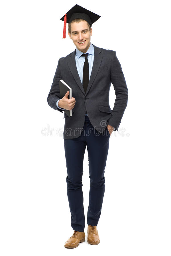 Download Graduate holding book stock photo. Image of body, book - 23630054