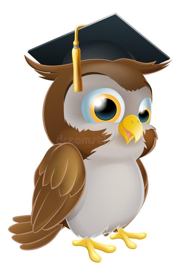 Graduate Owl vector illustration