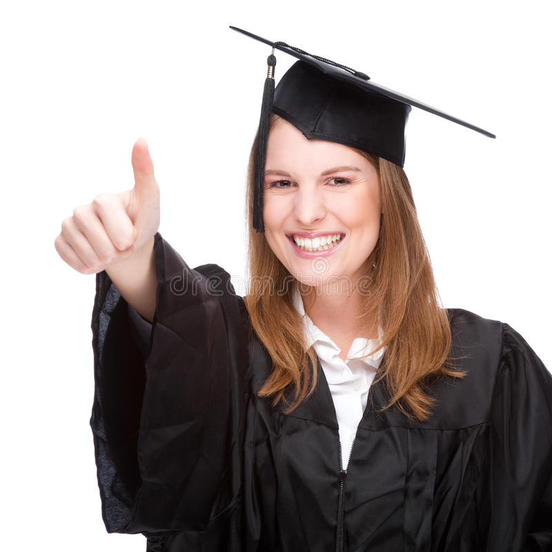 Download Graduate woman stock photo. Image of mortarboard, happiness - 13070650