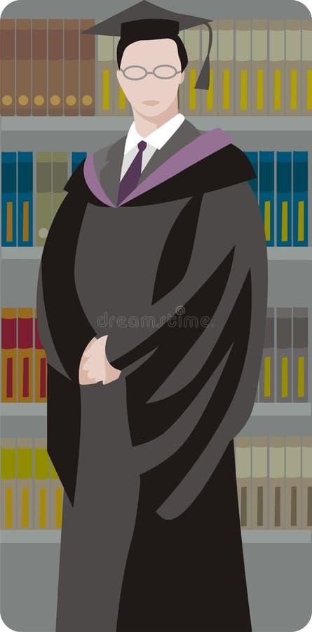 Free Graduated Student Illustration Stock Images - 2009504