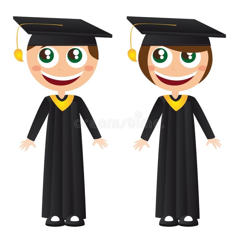 Download Graduates stock vector. Illustration of robe, education - 22336983