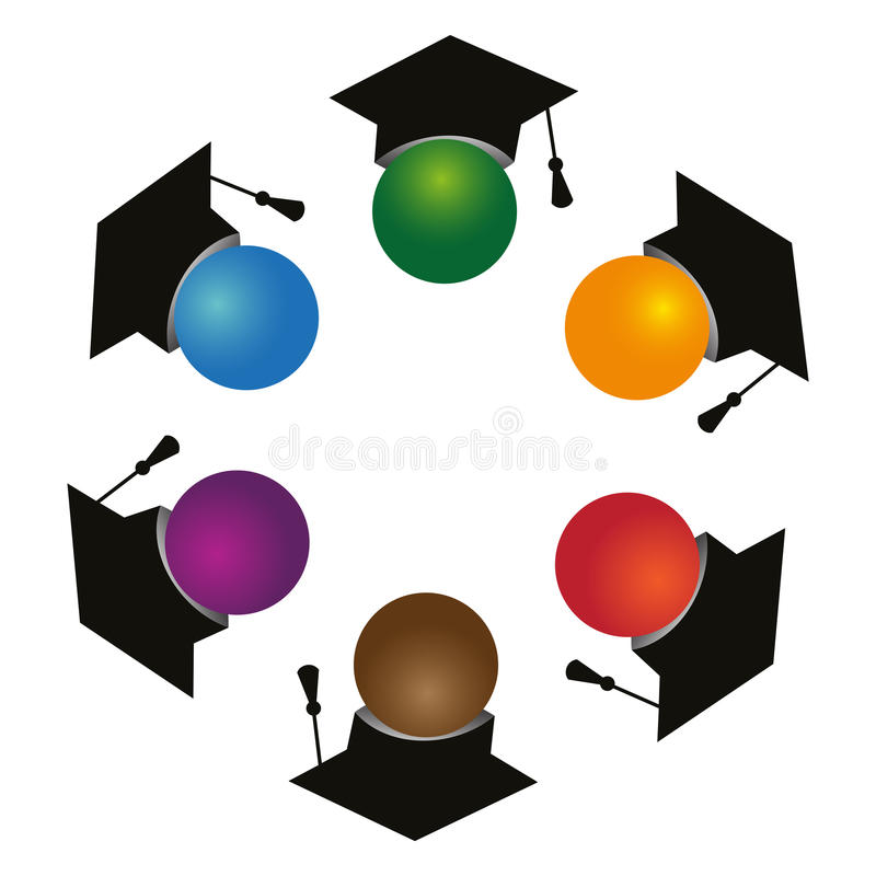 Download Graduates stock vector. Image of background, honours - 22456664