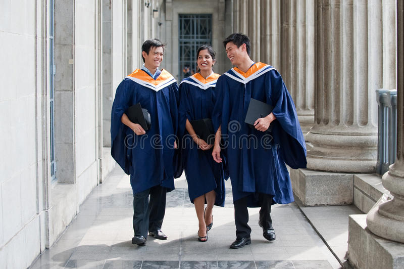 Download Graduates Chatting stock photo. Image of people, outdoors - 10424984