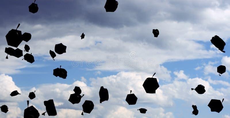 Graduatie! royalty-vrije stock fotografie