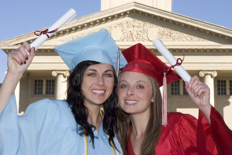 Graduatie stock afbeelding