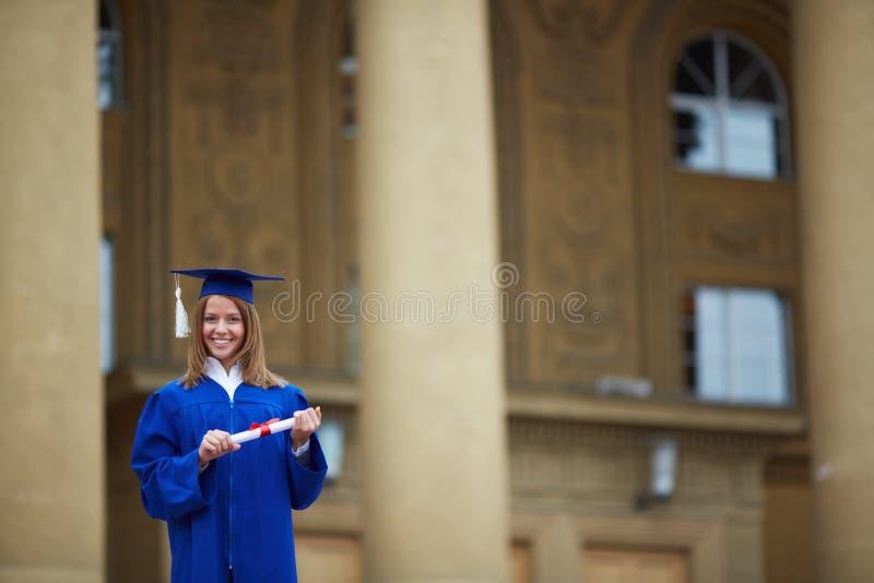 Graduatiedag royalty-vrije stock foto's