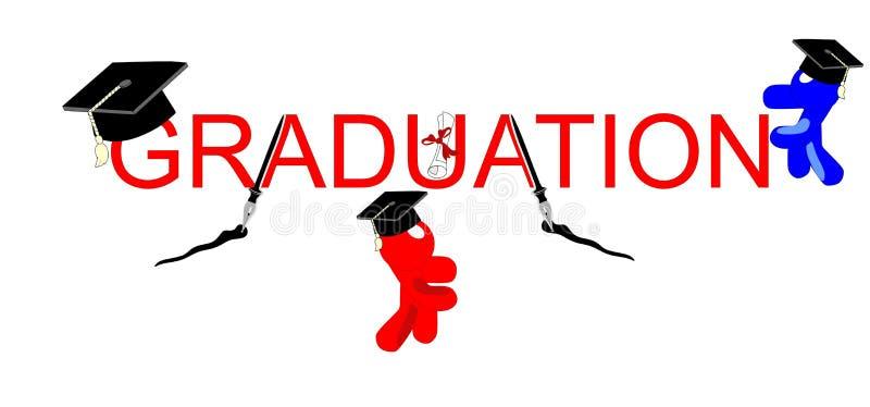 Graduating Celebrations Stock Photography