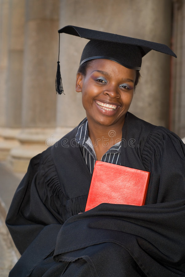 Download Graduating college student stock photo. Image of mortarboard - 4317096