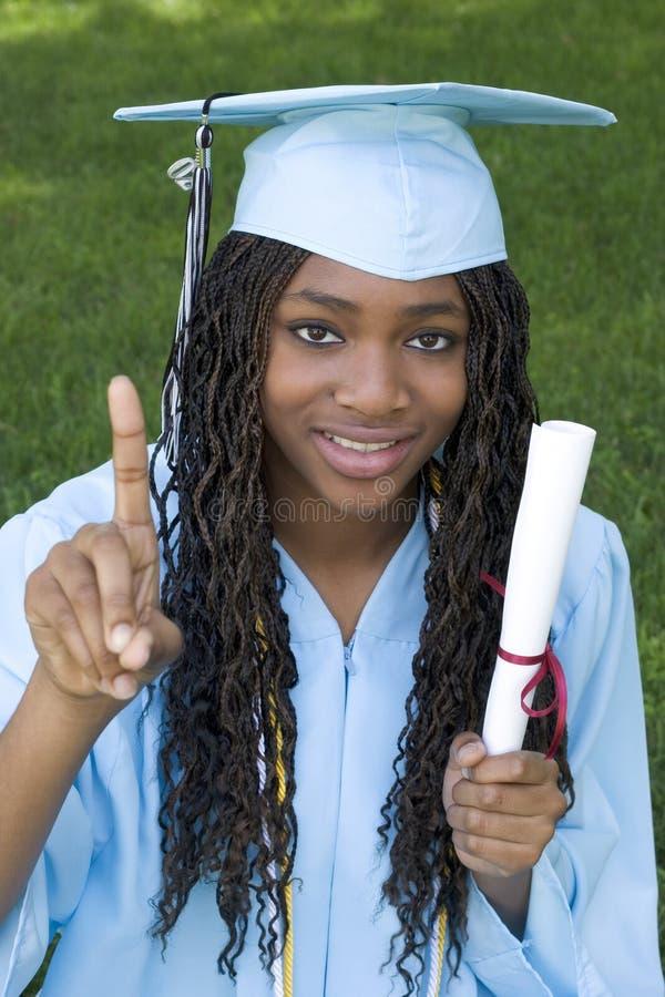 Download Graduating Teen stock photo. Image of smile, girl, diploma - 802926