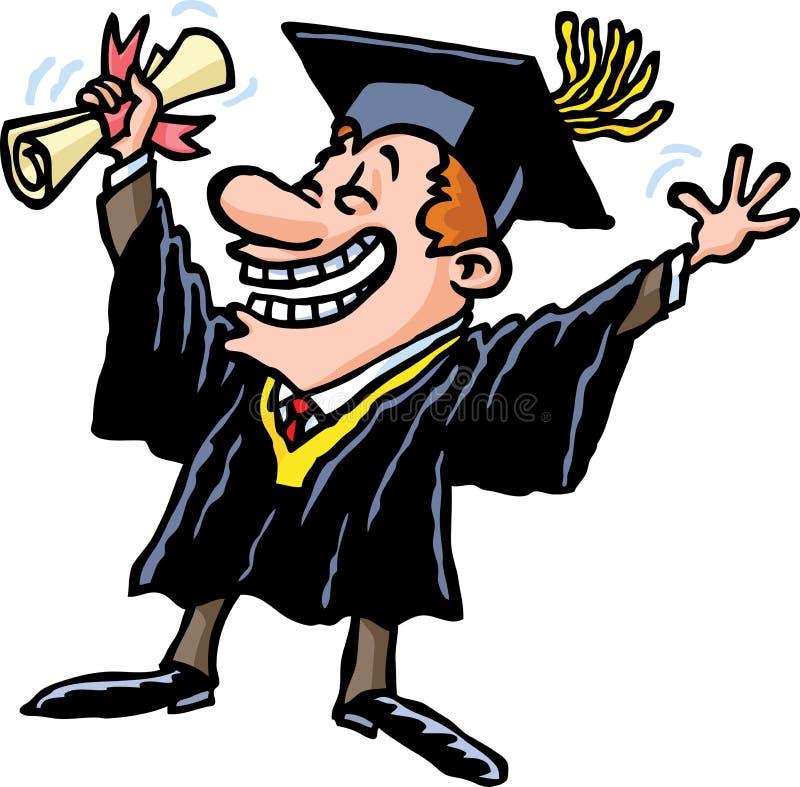 Download Graduation stock vector. Illustration of teenager, male - 24597233