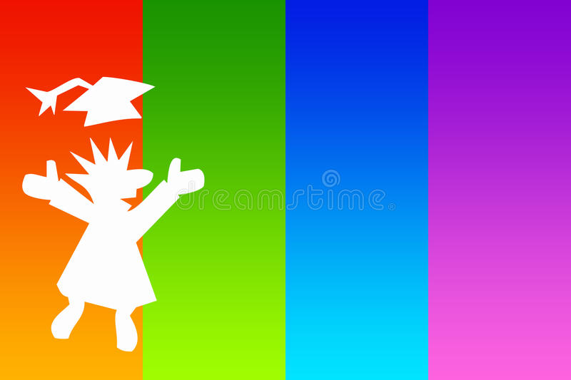 Download Graduation stock illustration. Image of classes, completion - 27741648