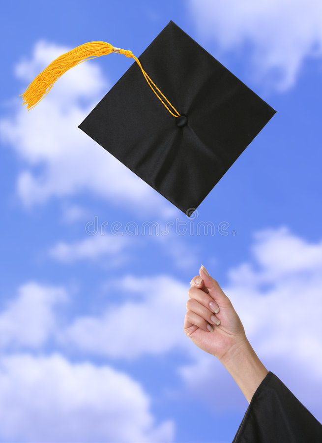 Graduation photos stock