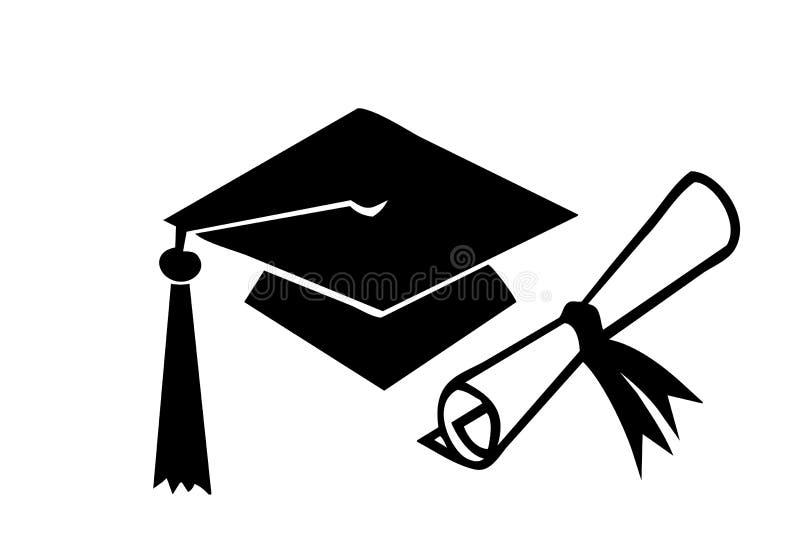 Graduation stock illustration