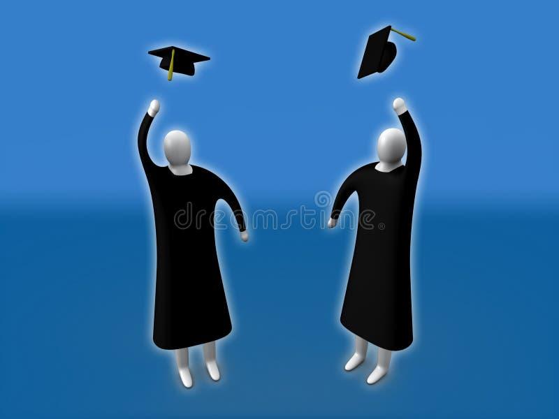 Graduation illustration de vecteur