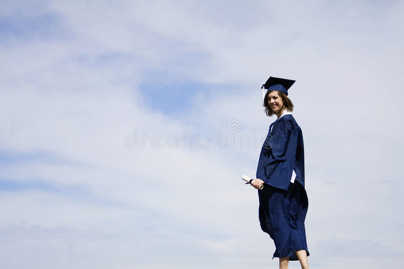 Download Graduation stock photo. Image of done, achieve, happy - 9110674