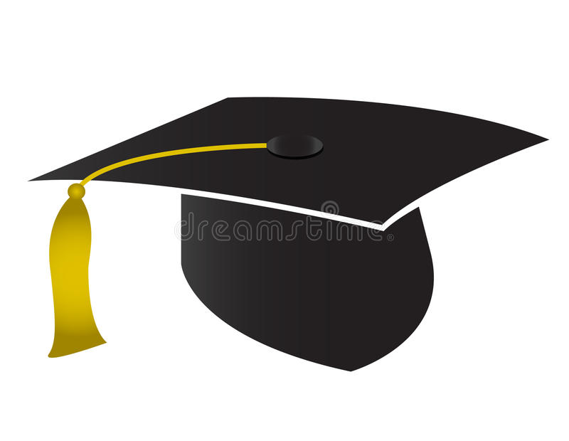 Download Graduation cap stock vector. Image of commencement, degree - 15627513