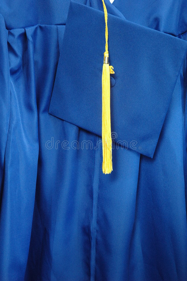 Free Graduation Cap And Gown Stock Image - 2697691