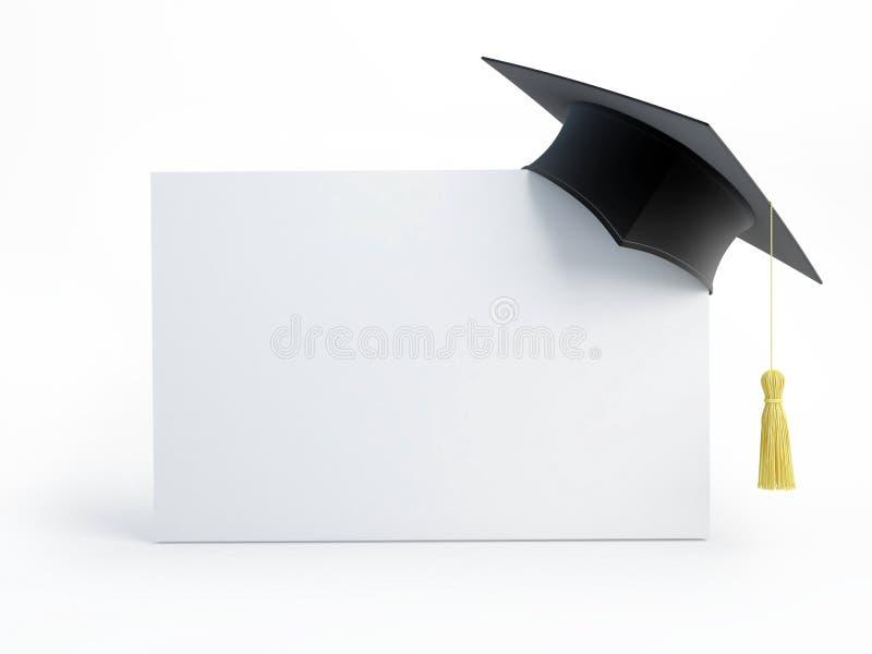 Download Graduation cap blank stock illustration. Illustration of academic - 15572818