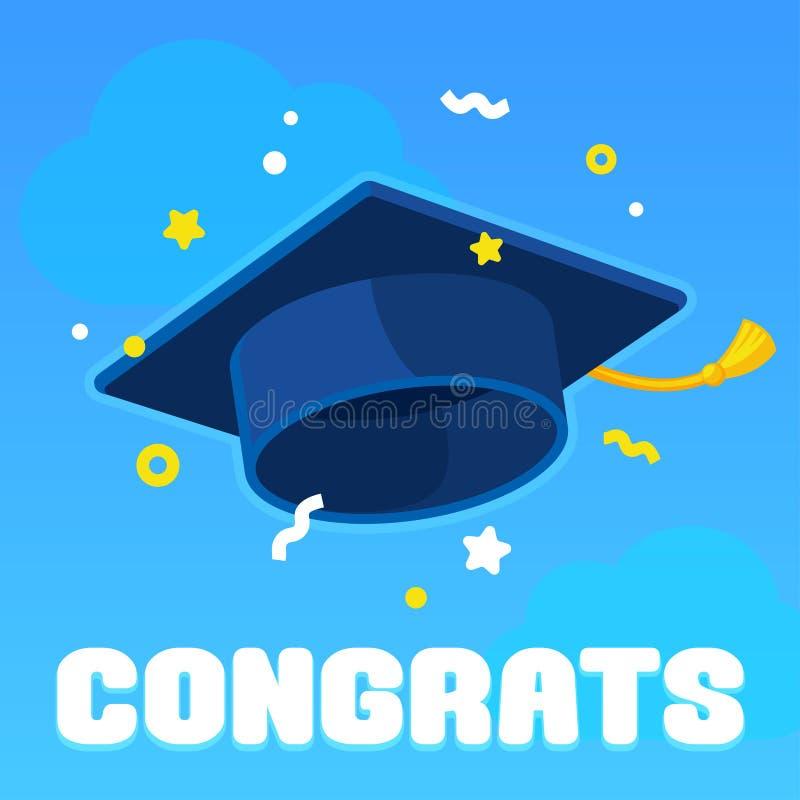 Free Graduation Celebration With Graduate Hat Royalty Free Stock Photography - 121348357